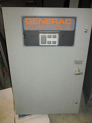 Generac Htsn100k1 100 Amp 480 Volt Automatic Transfer Switch- Ats143