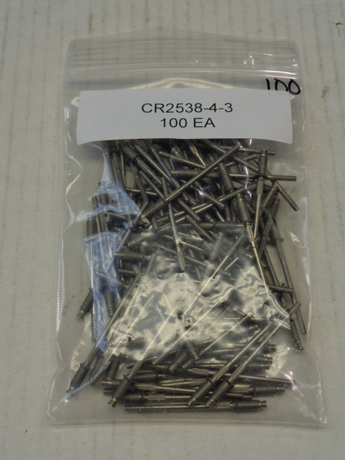 CHERRY RIVETS CR2538-4-3 100 COUNT  ***FREE SHIPPING***
