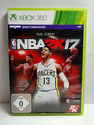 Used, NBA 2K17 (Microsoft Xbox 360, 2016) PAL EU Version Complete Manual Basketball for sale  Shipping to India