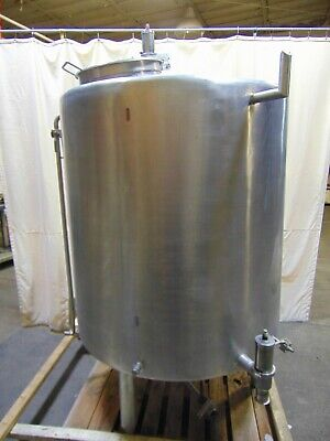 400 Gallon Vertical Stainless Steel Tank