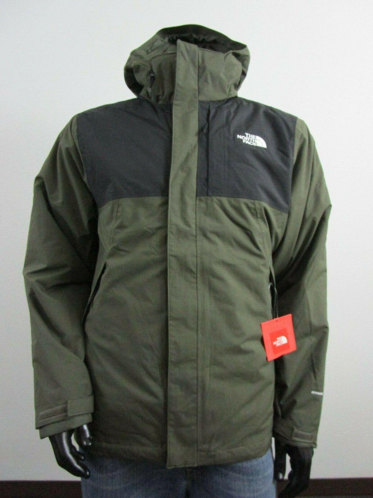 NWT Mens TNF The North Face Lonepeak Tri 3 in 1 Hooded Waterproof Jacket Black
