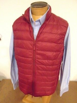 Double Down Zip (Johnnie O West Coast Prep Double Down Full Zip Down Vest NWT XL $145 Brick Red)