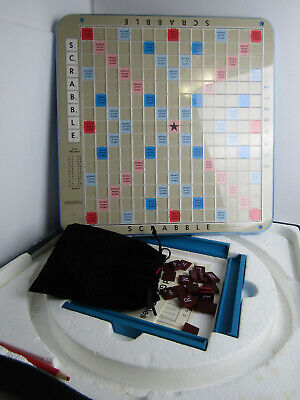 Vintage Selchow & Righter SCRABBLE Deluxe Edition Board Game 1977 Complete