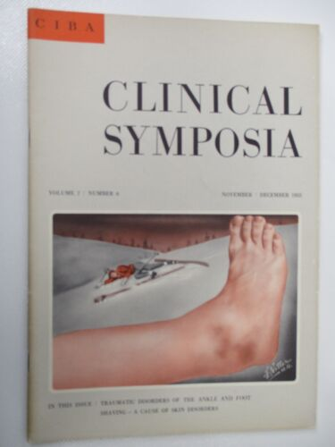 CIBA Clinical Symposia Frank Netter Illustrations 1955 Disorders of the Foot