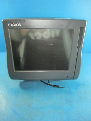 Micros Workstation 4 Pos Touchscreen Trminal With Stand 400614-001 - Used
