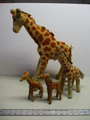 Vintage 1950s/60s Steiff Giraffe Lot 18