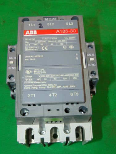 ABB Magnetic Contactor Motor Starter 220-240 120v Coil