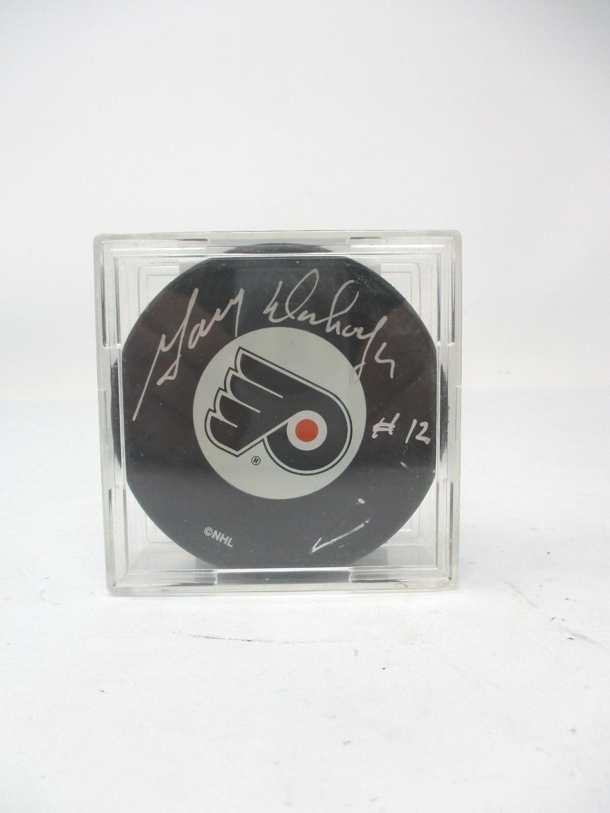 Gary Dornhoefer Signed Puck with COA