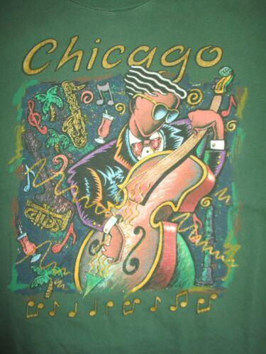 Vintage Hanes Label - 1991 CHICAGO JAZZ Festival (LG) T-Shirt