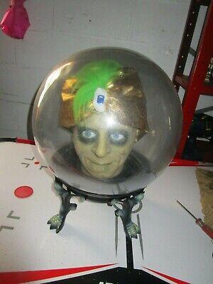 Gemmy Zultan Spirit Ball Fortune Teller Large Animated Talking Halloween - Spirit Halloween Crystal Ball
