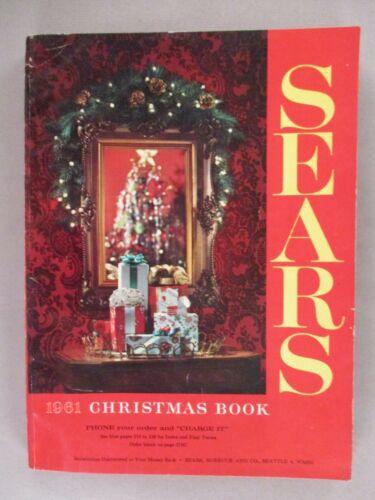 Sears CATALOG - Christmas, 1961 ~~ toy, toys