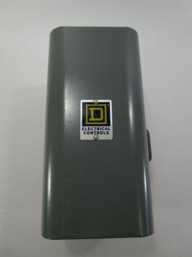 SQUARE D AC TIMING RELAY Single Pole Snap Switch 9050-BO-1E