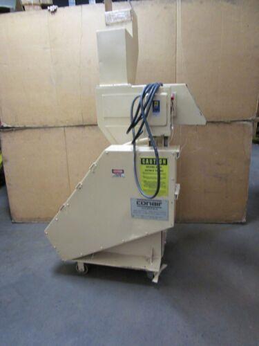 "CONAIR WORTEX 9339001 5HP PLASTIC GRANULATOR GRINDER 480V 6.8A 9"" BLADE"