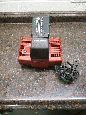 Hilti Tcu 736 110v-120v Battery Charger With Bp 40 Battery Free Shipping
