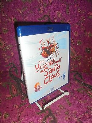 BLU RAY DVD-2010-THE YEAR WITHOUT SANA CLAUS-ANIMATED FILM