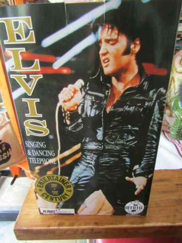 Elvis Singing And Dancing Telephone New In Original Box The King Of Rock & Roll