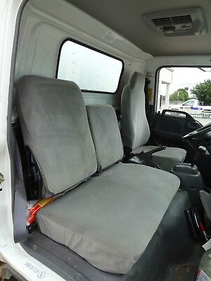 Isuzu Work Truck (1995-2005 Isuzu NPR/GMC 4500 Work Truck Seat Cover in Gray Endura )