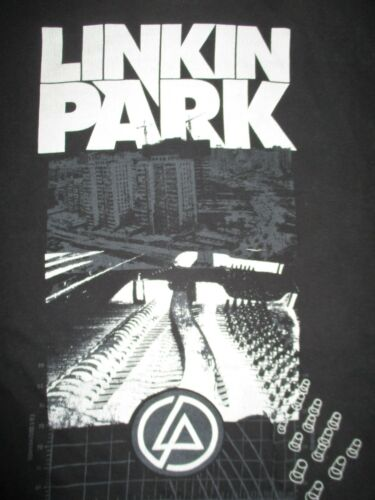 "LINKIN PARK ""Time of Development"" Concert Tour (XL) T-Shirt Chester Bennington"