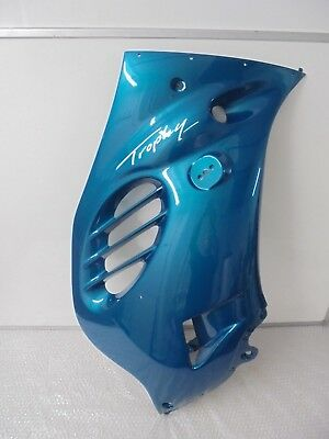 TRIUMPH TROPHY RIGHT SIDE FAIRING  TURQUOISE BLUE NEW RRP 27738 T2