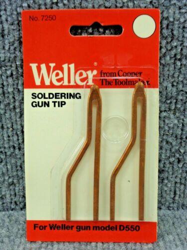 Vintage NOS Weller no. 7250 Copper Soldering Gun Tip for Weller Gun Model D550