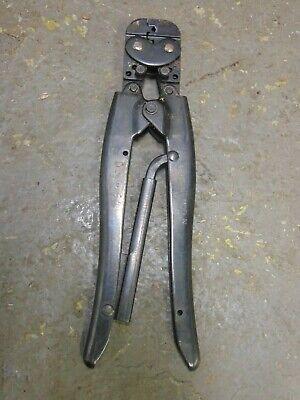 Amp 49915-n Mod N 22-16 1-2 D.g. Crimper Crimping Tool