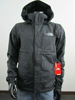 NWT Mens TNF The North Face Resolve 2 Waterproof Hooded Rain Jacket - Black