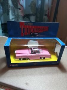 Corgi Thunderbirds Fab 1 toy car Lady Penelope Pink Rolls Royce