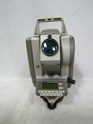 Nikon Dtm-450 Total Station With Carrying Case Accessories