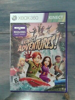 KINECT ADVENTURES.. XBOX 360.. VIDEO GAME.. CLASSIC!! for sale  Shipping to India
