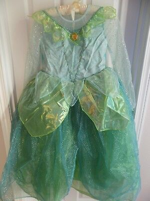 The Disney Store Tinkerbell Dress Up Halloween Costume 10/12 NWT