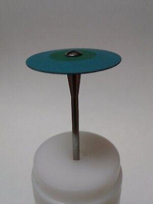 Diamond Rubber Wheel Dental Zirconia Porcelain Metal Mid Coarse