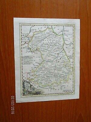 1750 CAMBRIDGESHIRE KITCHING COLOUR MAP