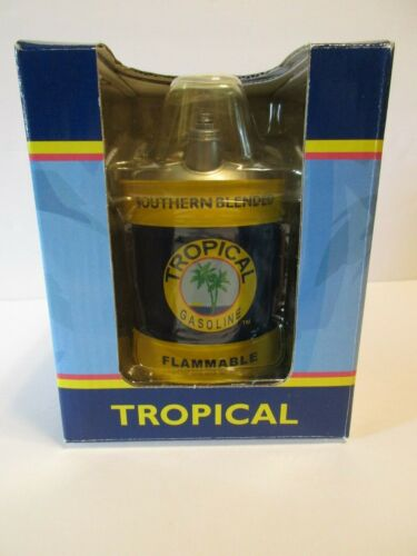 """First Gear Vintage Tropical Gasoline Fuel Can Coin Bank 4""""H"""