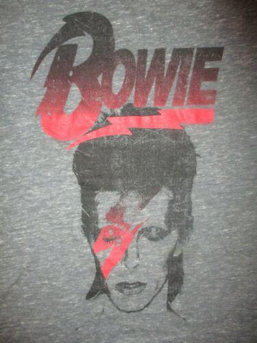 DAVID BOWIE ALADDIN SANE T SHIRT Licensed Retro Ziggy Stardust Youth MED 10/12
