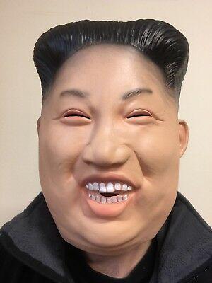 Lustig Lachen Kim Jong Maske Latex Ganzer Kopf Koreanisch Diktator Maskenkostüm Lustige Maske