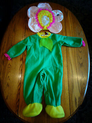 Baby In Halloween Costumes (IN CHARACTER COSTUMES HALLOWEEN FLOWER CHILD TODDLER COSTUME DRESS UP SIZE)