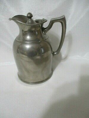 1916 Landers Frary Clk UNIVERSAL 2 Pc Insulated Thermos w Lid-BASE UNSCREWS-RARE