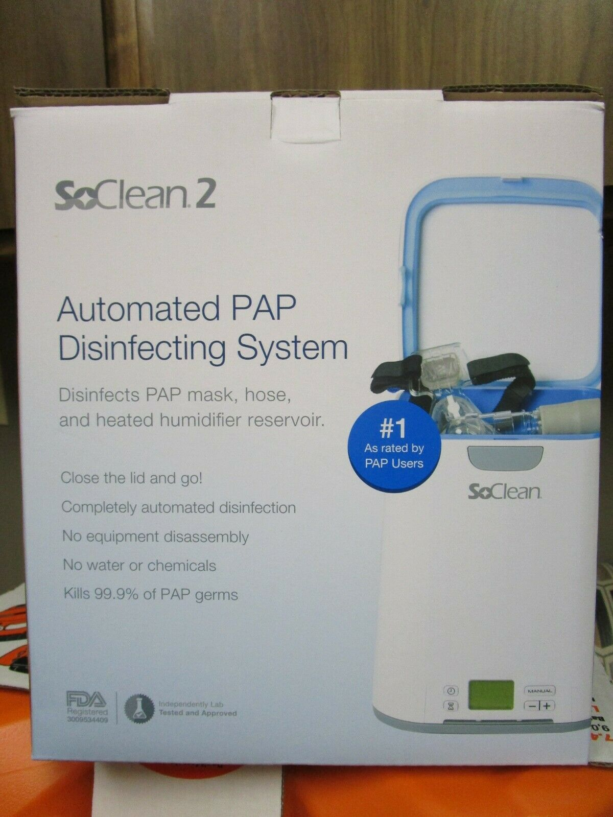 SoClean 2 CPAP Cleaner and Sanitizer SC1200 BRAND NEW SEALED