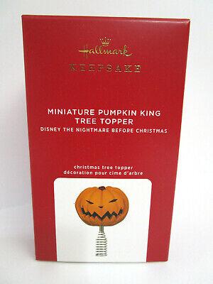 Hallmark 2020 Miniature Tree Topper Pumpkin King Nightmare Before Christmas