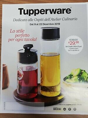 TUPPERWARE SET OLIERA DA 1L E 600ML +OMAGGIO