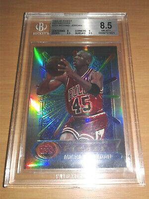1994-95 Finest REFRACTOR #331 Michael Jordan BGS 8.5 Rare 90s Insert NM-MT+ PSA