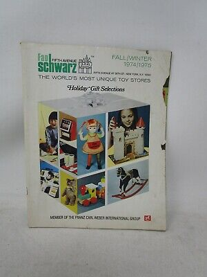Vintage *FAO SCHWARZ FIFTH AVENUE FALL/WINTER 1974/1975 HOLIDAY TO CATALOG*