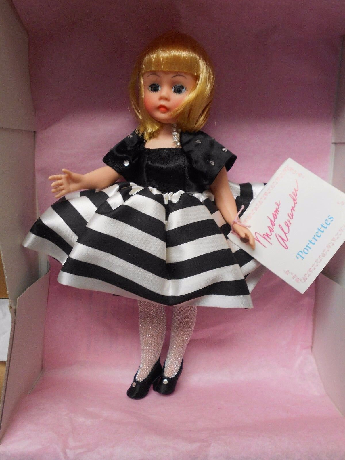 """MADAME ALEXANDER 10"""" DINNER AT EIGHT #1127...NEW IN BOX"""
