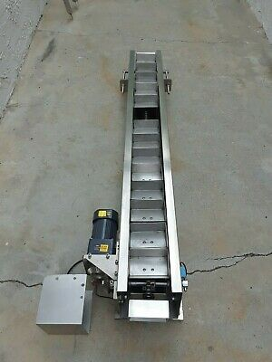 Stainless Steel Chain Conveyor Oubang Opg 5ik120ra-cf 5gu36kb 120w Speed 2726