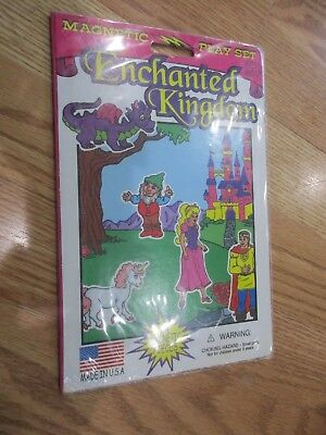 Smethport Enchanted Magnetic Play Set 1997 Girls 4 years and up New Sealed     Playset Smethport Toys