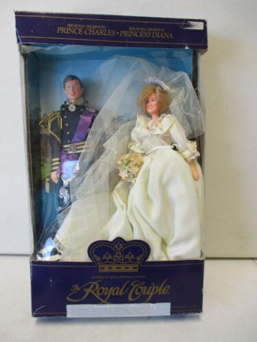 1982 Goldberger The Royal Couple Prince Charles and Princess Diana Dolls