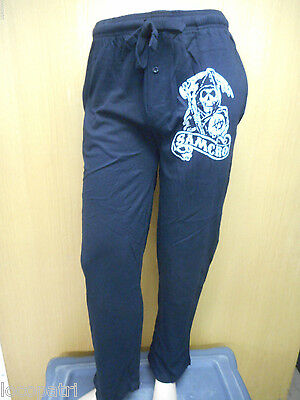 Mens Licensed Sons Of Anarchy Soa Samcro Pajama Pants New S