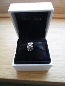 Pandora  Penguin Family Charm 791404EN60 With Pandora Pouch. DISCONTINUED
