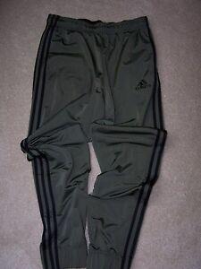 Men's - M - adidas - Ess. 3S Trico TP - Green & Black  - MSRP $40.00