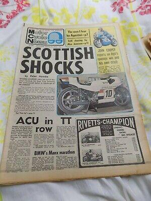 Motor Cycle news/Honda CRM250/CCM/Vincent/World of Sport TV Scramble
